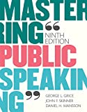 Mastering Public Speaking (9th Edition)