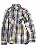 (アヴィレックス)AVIREX DAILY FLANNEL CHECK SHIRT 6155164 51BEIGE BEIGE M