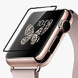 HOCO Apple Watch フィルム Apple Watch 2 液晶シールド アップルウォッチ 保護フィルム 9H硬度 0.1mm 飛散防止処理 気泡防止 高光沢 耐衝撃 38mm