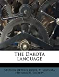 img - for The Dakota language book / textbook / text book