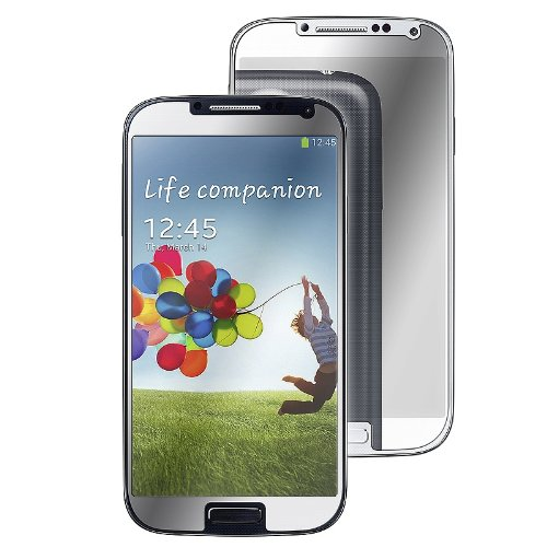 Eforcity 5 Packs Of Mirror Screen Protectors For Samsung Galaxy S Iv/S4 I9500 - Retail Packaging - Transparent