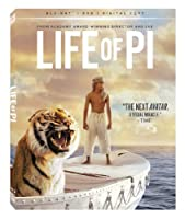 Life of Pi (Blu-ray + DVD + Digital Copy) from Fox