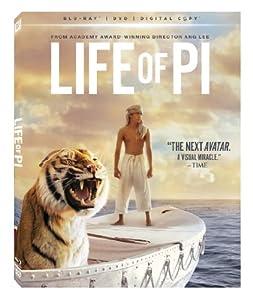 Life of Pi (Blu-ray + DVD + Digital Copy) from Fox