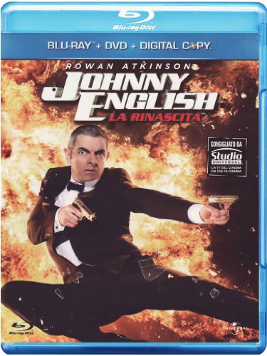 Johnny English - La rinascita [Blu-ray + DVD+ Digital Copy] [IT Import mit deutscher Sprache]