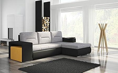 Ecksofa Octrans2 Eckcouch Sofa Couch Wohnlandschaft Bettfunktion 01285