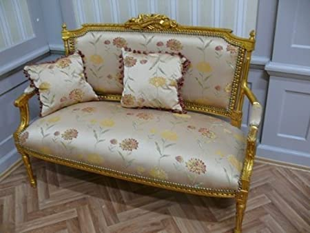 Barock Sofa Antik Stil Rokoko LouisXV AlSa0315So
