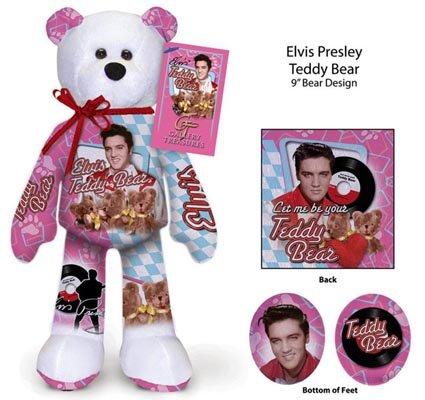 Elvis Presley-Beanie Bear Teddy Bear
