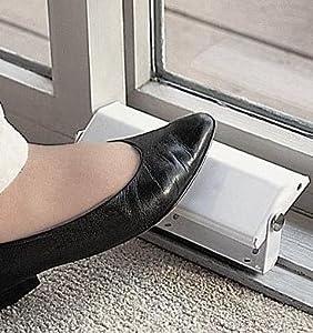 New Patio Bottom Door Lock Release Steel Heavy Duty