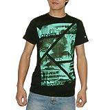 Mens O'Neill SANTA CRUZ V-Neck Skate & Surf T Shirt / Tee - Black