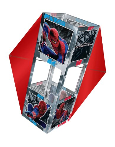 29 Inch The Amazing Spider Man Sky Box Poly Winged Box Kite
