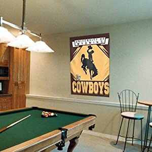 Buy NCAA Wyoming Cowboys 27'' x 37'' Vintage Vertical Banner Flag by WinCraft