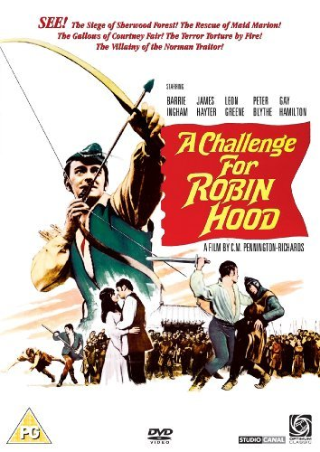 A Challenge For Robin Hood [DVD] by Barrie Ingham