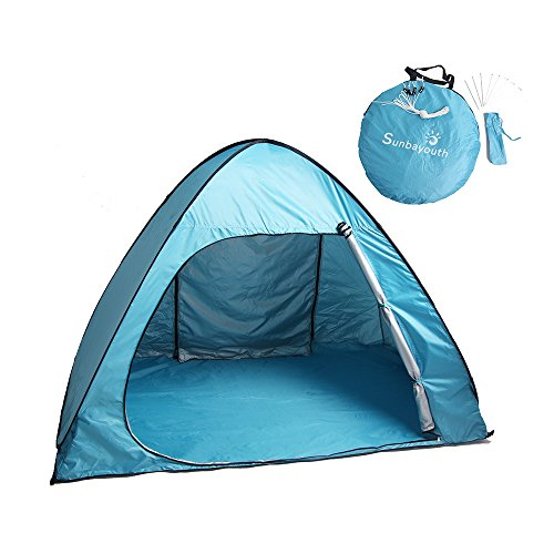 Portable Pop Up Shelters : Pop up tent sunba youth portable camping tents for