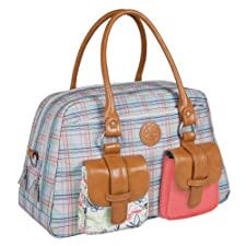 Lï¿œssig Changing Bag Vintage Metro Bag Candy-Striped by Lï¿œssig