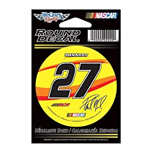 Buy #27 Paul Menard 2012 3 Round Decal by Brickels