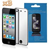 Mirror Screen Protector for Apple iPod Touch 4th Gen-3-Pack