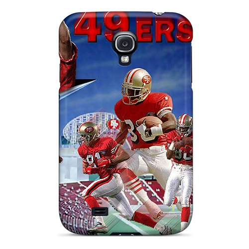Roc4890Qeur Case Cover San Francisco 49Ers Galaxy S4 Protective Case