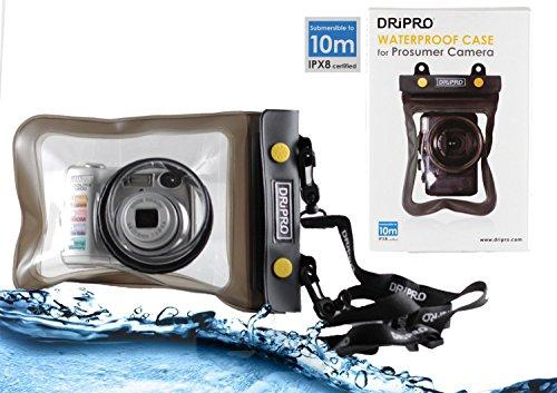 Navitech London デジカメ用水防止ポーチケース (Canon PowerShot G7 X/ FUJIFILM XQ2 / Canon PowerShot G3 X / OLYMPUS STYLUS TG-4 Tough / Sony サイバーショット DSC-HX90V/ Canon PowerShot SX710 HS/ Ricoh GR II/ Panasonic LUMIX DMC-LX100/ Nikon COOLPIX S9900/ COOLPIX P610 / OLYMPUS STYLUS 1s) (Canon PowerShot SX710 HS)