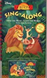 Lion King Sing Along [CASSETTE]