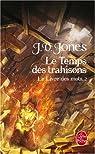 Le Livre des Mots, Tome 2 : Le Temps des trahisons par Jones