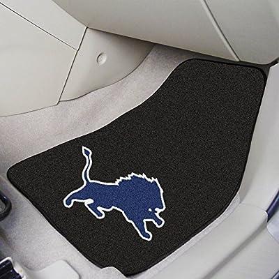 National Football League Detroit Lions Carpeted Car Mats