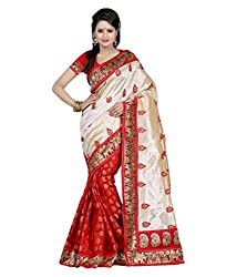 Pushkar Sarees Georgette Saree (Pushkar Sarees_48_Multi-Coloured)