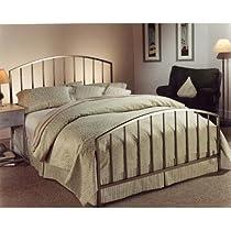 Hot Sale Hillsdale Furniture 274BKR Lincoln Park Bed, Antique Pewter