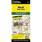 Moab [Map Pack Bundle] (National Geographic Trails Illustrated Map)