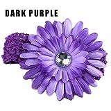 Newleaves 5PCS New Fashion Baby Girl Woman Crochet Headband Hair Band Daisy Flower