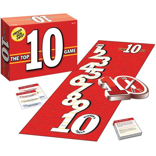 The Top 10 Game for Trivia by USAopoly - 1