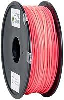 eSun PLA 3D Printer Filament, 3 mm Diameter, 1 kg Spool, Pink by Shenzhen Esun Industrial Co., Ltd.