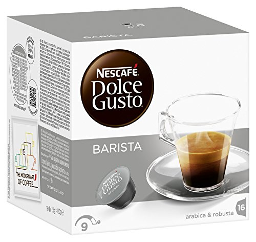 Shop for Nescafé Dolce Gusto Espresso Barista, Pack of 3, 3 x 16 Capsules from Nestlé
