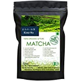 KimiNo Japanese Matcha Green Tea Powder - 100 Gms - JAS Certified Matcha (Free Receipe EBook) Perfect For Making...
