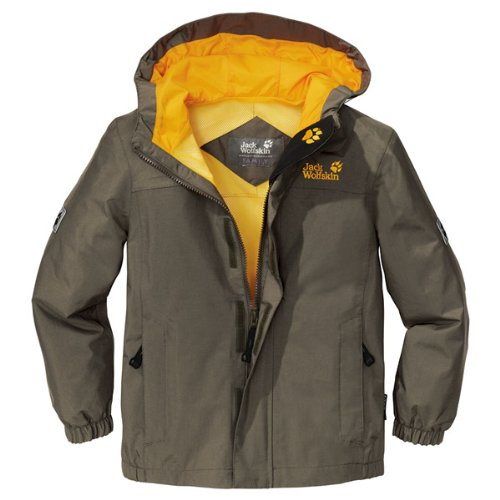Jack Wolfskin BOYS HIGHLAND granite