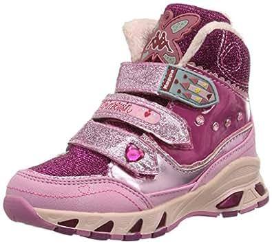 Kappa KAPPARELLA MID K Footwear Kids, Mädchen Hohe Sneakers, Pink (2222 pink), 35 EU