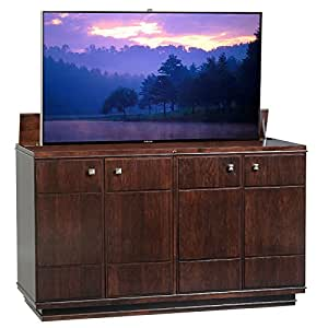 Tv lift cabinet for 40 55 inch flat screens for 40 inch kitchen cabinets