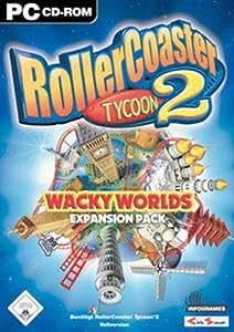 Rollercoaster Tycoon 2 - Wacky Worlds (Add-on)