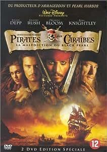 Pirates des Caraïbes - Édition Spéciale 2 DVD [Import belge]