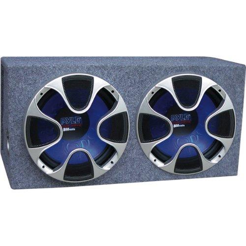 Pyle Plbs122 Dual 12-Inch 1000 Watt Bass Box