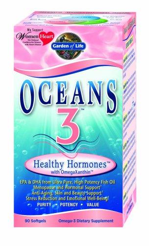 Garden of Life Oceans 3 - Healthy Hormones, 90