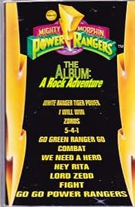 power rangers rock adventure