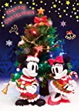 Disney Sparkle Christmas 3D Lenticular Greeting Card / Christmas 3D Postcard