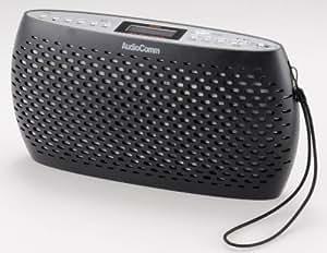 OHM Electron AudioComm ポータブルCD/MP3/ラジオ ブラック RCR-80Z-K