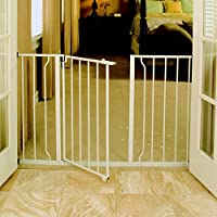 Regalo Easy Open Extra Wide Metal Walk Through Safety Gate from Regalo International