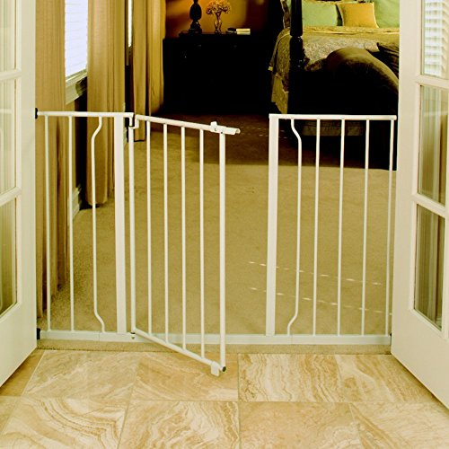 Regalo Easy Open Extra Wide Metal Walk Through Safety Gate - 1