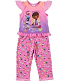 "Disney Doc McStuffin Girls 2 Piece ""Friendship is the Best Medicine"" Pants Pajama Set (2T)"