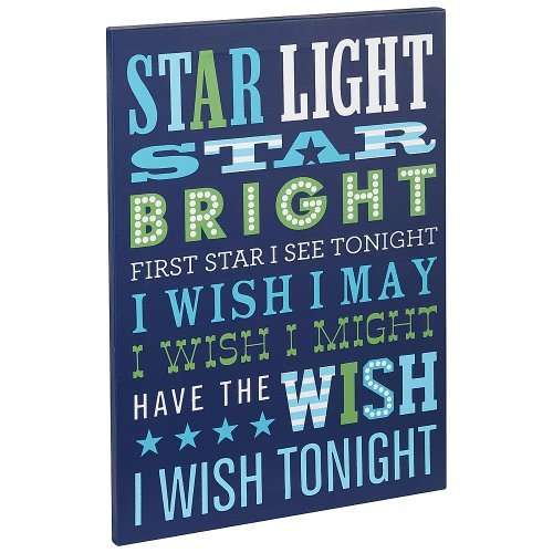 Happy Chic Baby by Jonathan Adler - Charlie Star Light Wall Art.