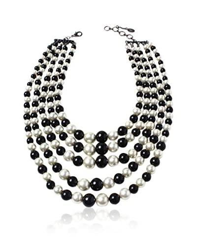 Amrita Singh Collar Baroda Black/White