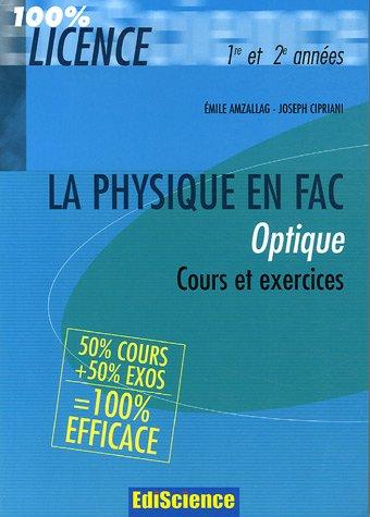 cours de physique optique dunod pdf