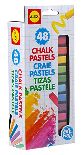 alex-toys-artist-studio-48-chalk-pastels